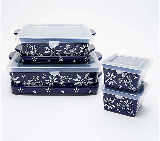 Temp-tations 6-Piece Classic Bakeware Set