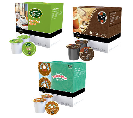 Keurig 54 K Cups Coffee Lover s Variety Pack Page 1 — QVC