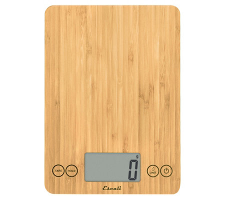 Escali Arti Digital Kitchen Scale Bamboo