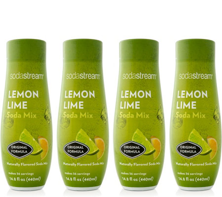 SodaStream Lemon Lime Sparkling Drink Mix
