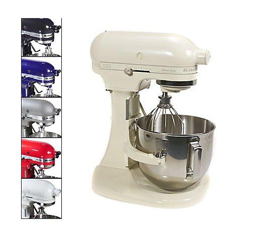 Kitchenaid 5qt 325 Watt Heavy Duty Stand Mixer With Bowl Lift Qvc Com