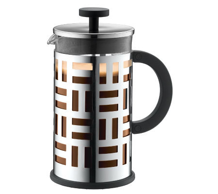 Bodum Eileen French Press Coffee Maker, SilverC hrome