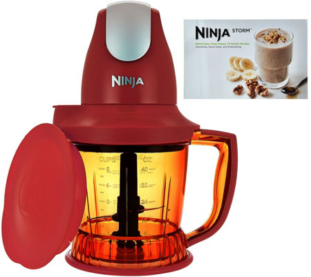 Ninja Storm Designer Series 450W 40 oz. Food & Drink Maker w/Recipes