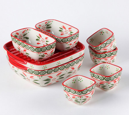Temp-tations Seasonal 9-Piece Petite Bake Set