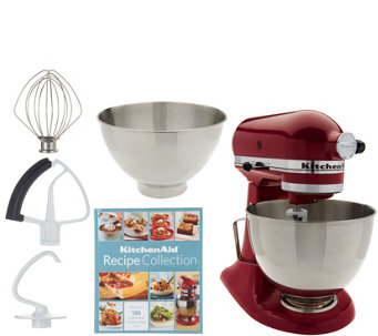 Kitchenaid 4 5qt 300w Tilt Head Stand Mixer With 3qt Bowl K46647