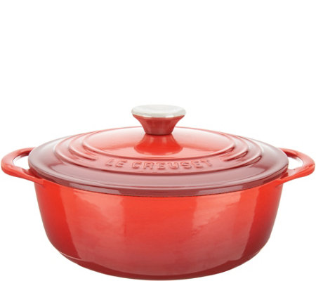 """As Is"" Le Creuset 2.75-qt Cast-Iron Dutch Oven"