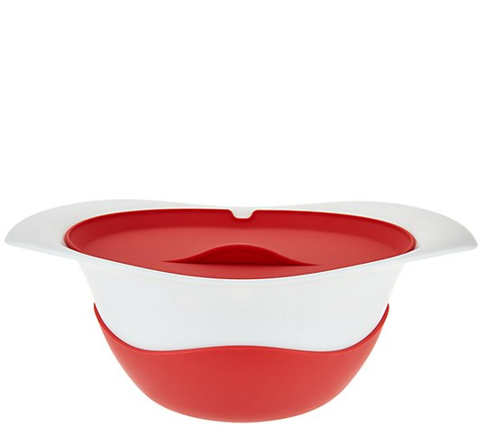Colandish Colander & Serving Dish with Silicone Lid