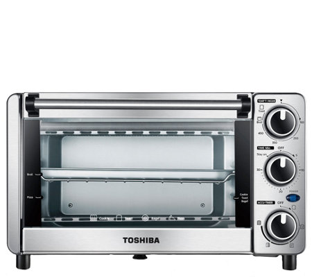 Toshiba MG12GQN-CHSS 4-Slice Toaster Oven - Stainless Steel