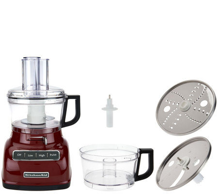 kitchenaid 7 cup exactslice food processor w extra bowl page 1
