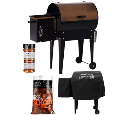 Traeger JR Elite 305 sq. in. Wood Fired Grill & Smoker