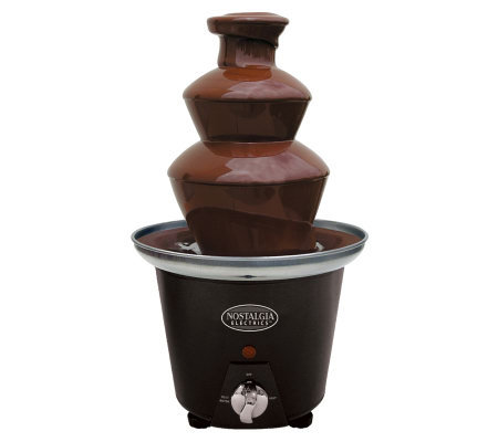 Nostalgia Electrics CFF-965 Mini Chocolate Fondue Fountain