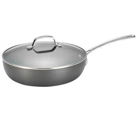 "Circulon Genesis Hard-Anodized 12"" Covered Skillet"