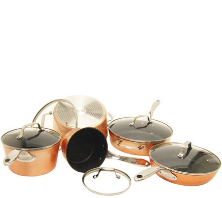 Starfrit 10-Piece Copper Cookware Set