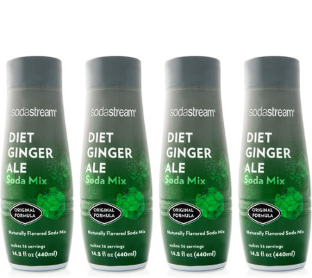 Sodastream Diet Ginger Ale Sparkling Drink Mix