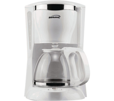 Brentwood 12-Cup Coffee Maker - White
