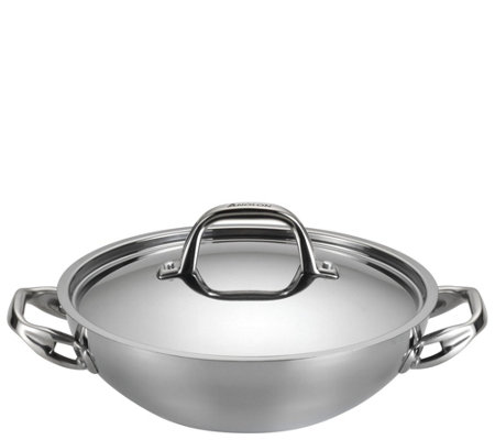 Anolon Tri-Ply Clad Stainless Steel 3-qt Covered Braiser