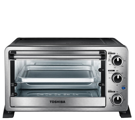 Toshiba MC25CEY-CHSS 6-Slice Toaster Oven - Stainless Steel