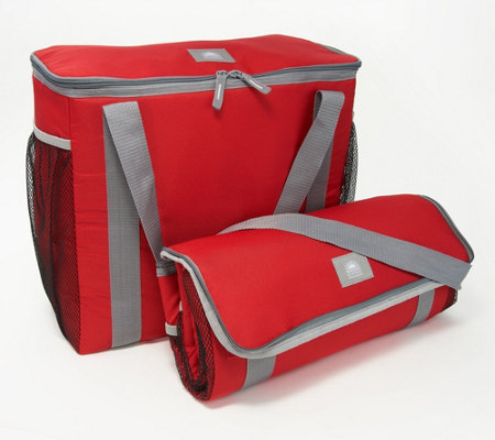 California Innovations Set of 2 Insulated Cart Totes