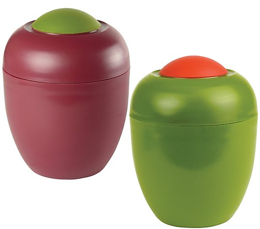 Gourmac Set of 2 Olive Keepers