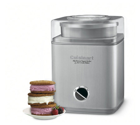 Cuisinart Pure Indulgence Frozen Yogurt/Sorbet/Ice Cream Make