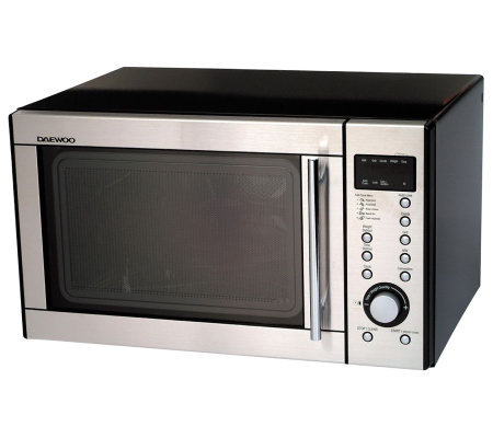 Daewoo 1 0 Cu Ft Convection Oven With Stainless Steel Front