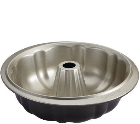 "Anolon Nonstick Bakeware 9-1/2"" Fluted Mold Pan"