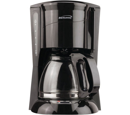 Brentwood Programmable 12-cup Coffee Maker - Bl ack