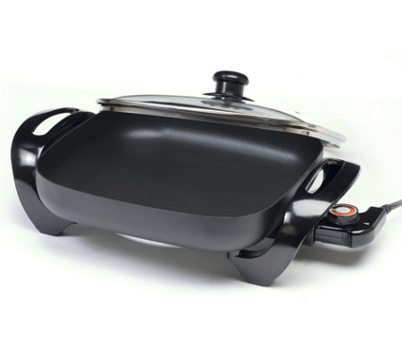 "Elite 12"" Nonstick Electric Skillet"