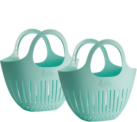 Gourmac Set Of 2 Mini Garden Colanders