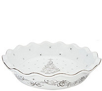 "Temp-tations 9"" Metallic Pie Plate with Gift Box - K47759"