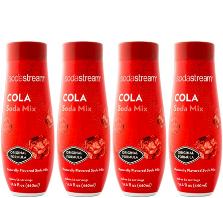 SodaStream Fountain Style Cola Sparkling DrinkMix