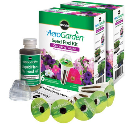 Aerogarden Set Of 2 6 Pod Petunia Seed Pod Kits