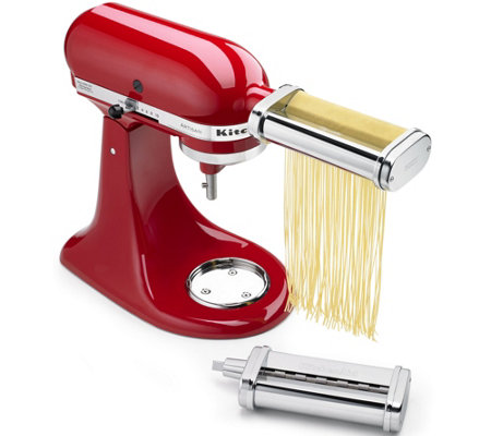 KitchenAid 2-Piece Pasta Cutter Set Attachment