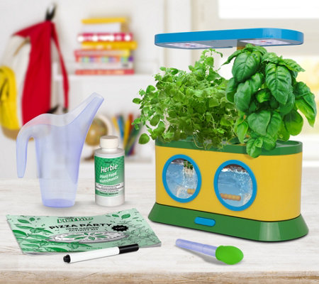 Miracle-Gro AeroGarden Herbie Garden w/ Pizza Party Kit