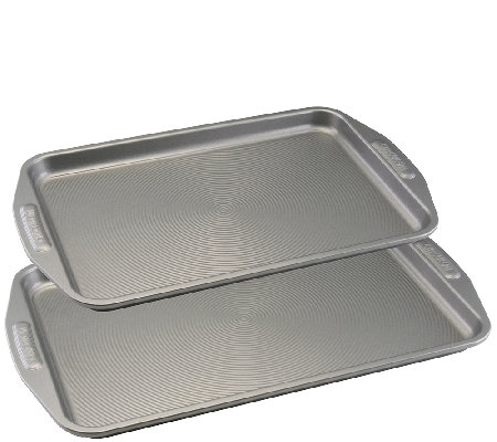 Circulon Nonstick Bakeware Two Piece Cookie Sheet Set