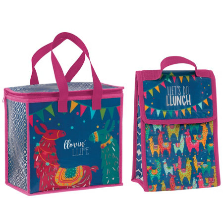 a556398b2e72 Karma Gifts Llama Cooler Bag and Lunch Sack — QVC.com