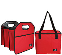 California Innovations Trunk Organizer with Removable Cooler Bag - K45662