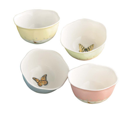 Lenox Butterfly Meadow Set of 4 Dessert Bowls