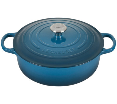 Le Creuset 6.75-qt Round Wide Cast Iron Dutch Oven