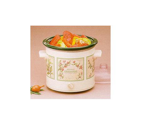 Rival Crock Pot 3 1 2 Qt Slow Cooker Removable