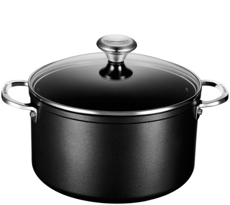 Le Creuset Nonstick 6-1/3-qt Stockpot with Glass Lid