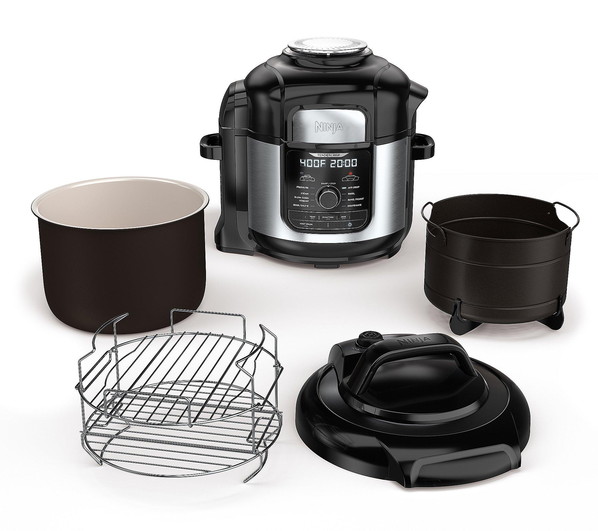Ninja Foodi Deluxe Xl 8 Qt Cooker And Air Fryer Qvc Com