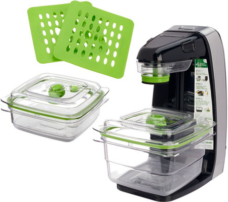 Foodsaver Freshsaver W Containers Zipper Bags