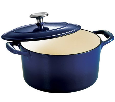 Tramontina Gourmet Enameled Cast-Iron3.5-qt Duttch Oven