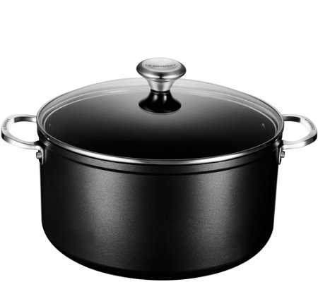 Le Creuset Nonstick 9-1/3-qt Stockpot with Glass Lid