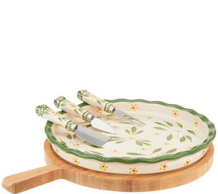 As Is Temp Tations Old World 5 Piece Cheeseboard Set