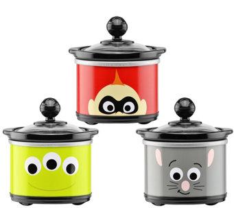 disney pixar characters mini slow cookers 3 pack k378266 - Disney Kitchen