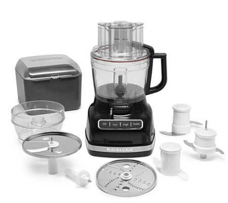 KitchenAid 11 Cup Food Processor w/ Exact Slice & 3 Cup Mini Bowl