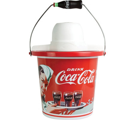 Nostalgia Electrics Coca-Cola 4-qt Ice Cream Maker