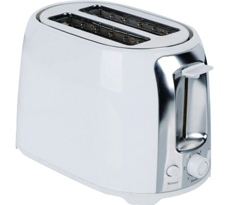 Brentwood 2 Slice Cool Touch Toaster - White
